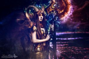 Warrior Faun by emilyrosa