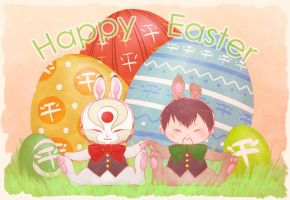 Happy Easter by frostious