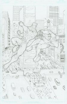 No Mans Land page 3 pencile by JAM32