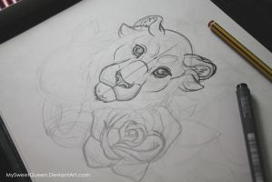 Tattoo Design: WIP by MySweetQueen