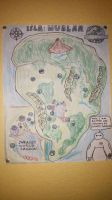 The Map Of Isla Nublar by PeteDRaptor