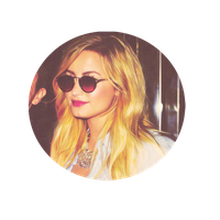 DEMI LOVATO CIRCULE PNG by emmalinepotter