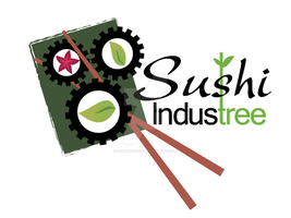 Sushi Industree Logo by sampdesigns