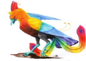 The queen of the colors by liliacee