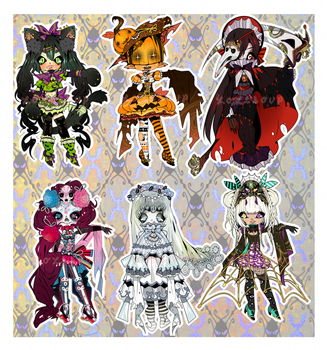 CLOSED: HALLOW'S EVE ADOPTABLE AUCTION by minnoux
