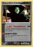 Wicked Witch of the West Pokemon Card by Amphitrite7