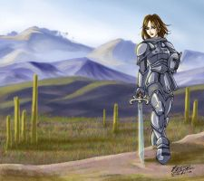 Lemka Knight by tiffa