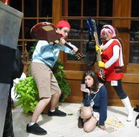 Cosplay Check:  FLCL by Rhythm-Wily