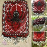 Spider Wall Hanging by RebeccaMArt