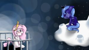 Lullaby for a princess-filly by xXMizuNoOokamiXx