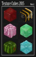 Texture Cubes Week 1 by Sabinzie