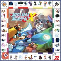 Megaman Monopoly X Board by EliteGamerX