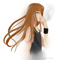 Smoking Away by Melody-Musique