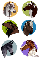 Vagabonds headshots by MeetingGemini