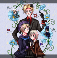APH - The Nordic 5 by KatheChan