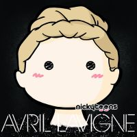 Avril Lavigne - Avril Lavigne by NickyToons