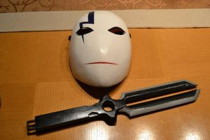 Hei's Mask and Dagger by Solvash