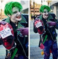 Punk joker re vamped by SmilexVillainco