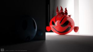 Life less frightening by K-Dee3D