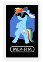 AR Character Card: Rainbow Dash by EROCKERTORRES