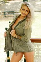 Justine - khaki 4 by wildplaces