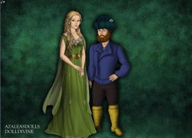 Goldberry and Tom Bombadil by jjulie98