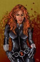 Black Widow by shaunamobley