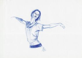 Summer Glau dancing by AMYisC0P1C