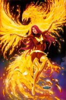 Dark Phoenix by mikerenzine