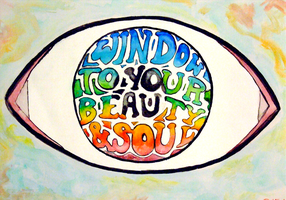 Window To Your Beauty And Soul by thehatterschild