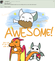 Ask Awesome 14 by Noobynewt