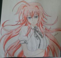 Rias Gremory by LeMiles13