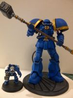 Ultramarine Dread Knight by Waileem