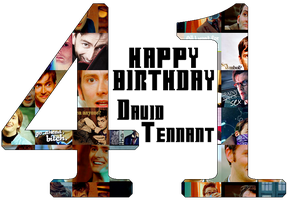 Happy Birthday David Tennant by Unknown-Diva