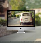 Renault 4 GTL BackView by hombre-cz