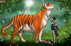 _CP_ The Tiger by TyrineCarver
