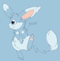 Yochi the Azumarill by MBPanther