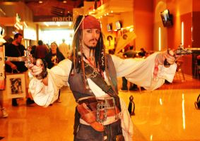 Phoenix Comicon 2011 Capt Jack by Recycledhero