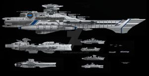Confederate Starfleet by ClefJ