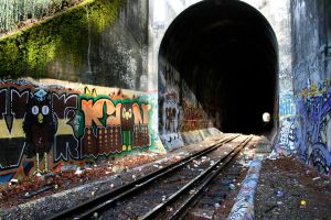 Olympia Tunnels 1 by hyannah77-stock