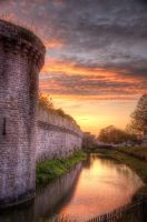 Burning Moat by Azagh