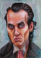 Withnail -Pastel Portrait by Nippip