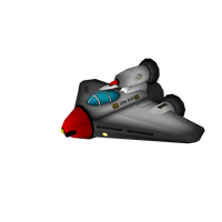 Player ship from Astro-Nomical by Cydel