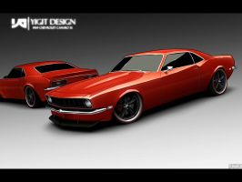 69 Camaro SS by ygt-design