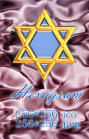 Hexagram by kentasama