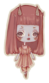 (CLOSED) Chibi Demon Adopt by Ninelyn