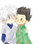 killua and gon by Enyae