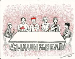 Shaun of the Dead by Lanka69