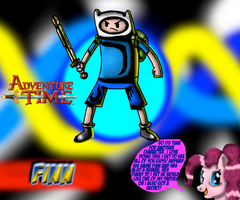 Finn Wallpaper by CrossoverGamer