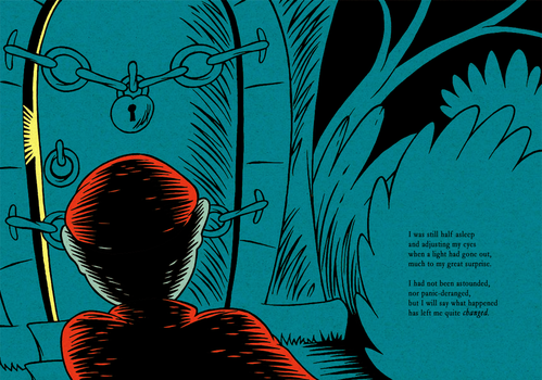 HPL's The Tomb (for beginning readers) - P24-25 by DrFaustusAU